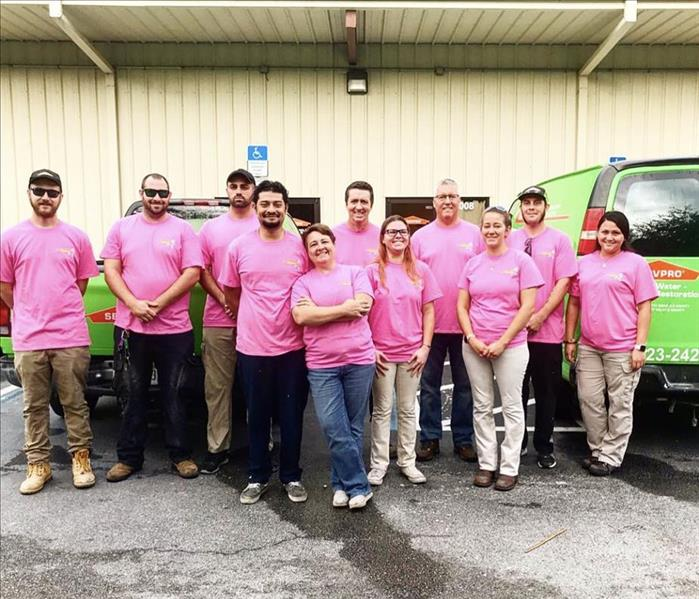Community SERVPRO of West Volusia Goes Pink